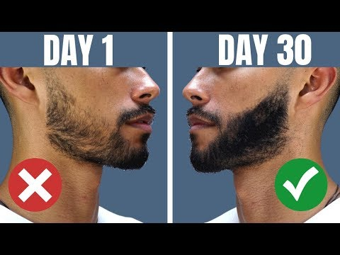 How To Grow A Beard If You Cant Grow Facial Hair | WORKS 100% Of The Time