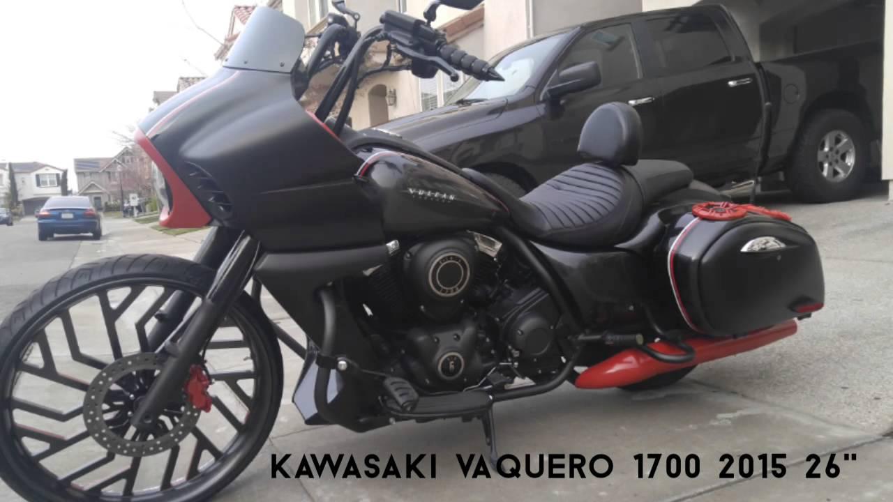kawasaki vaquero 1700 - youtube