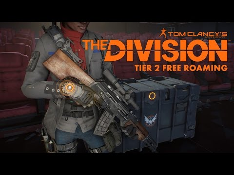 Tom Clancy's The Division 1.4 PTS Free Roaming in Tier 2 World