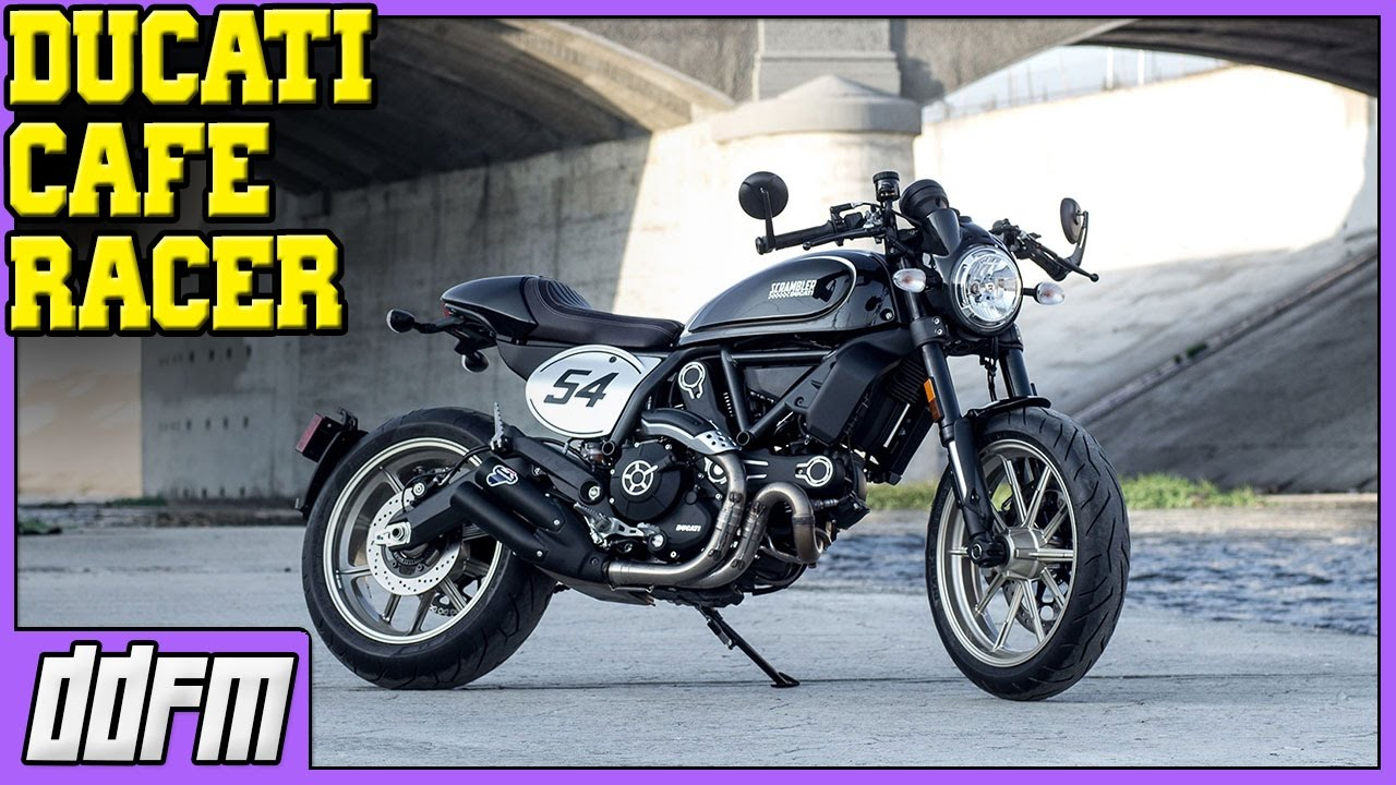 2017 Ducati Scrambler Cafe Racer First Look EICMA 2016