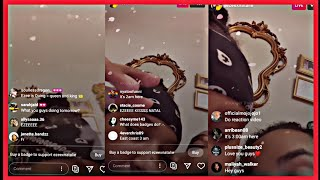 EZEE X NATALIE GET FREAKY ON  INSTAGRAM LIVE ( Who Is The Prank Queen)!?