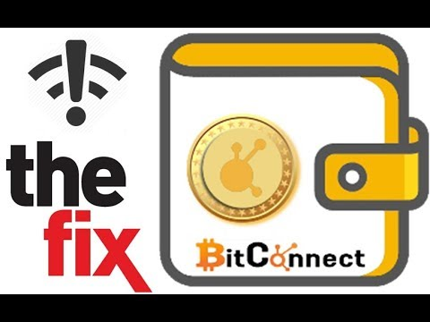 BitConnect Wallet Not Syncing? The Fix!