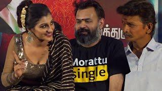 Bijili Ramesh, Gopi Sudhakar & Yashika Aannand Speech at Zombie AudioLaunch Yogi Babu Zombie Trailer