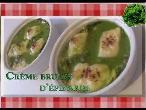 1-ingrédient-1-recette---crème-brulée-d'épinard-#01