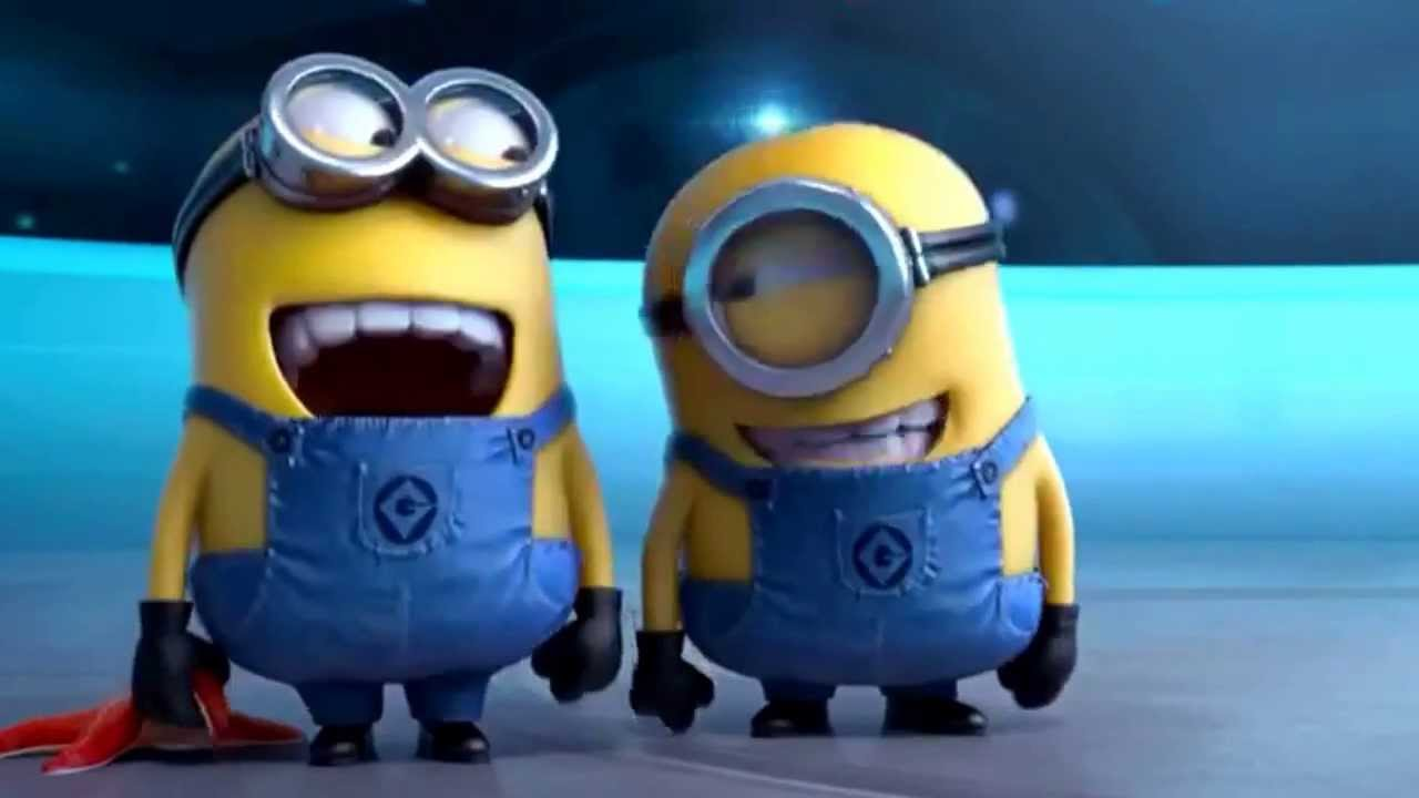 Gif Images Animated Wallpapers Minions Popo Hahaha Youtube