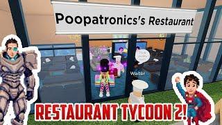 WE OPEN A RESTAURANT! Roblox Restaurant Tycoon 2! Beta Access