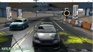 NFS Pro Street LAN Gameplay [Hamachi]