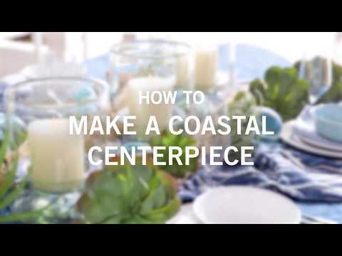 How to Make a Coastal Centerpiece