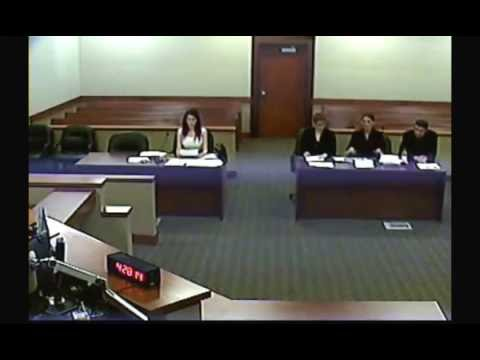 Public Record Court Video, from 02/12/2016. Scamber Goes to court