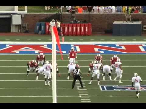 Garrett Gilbert SMU QB #11 Passing Highlights (Throws Under 10 Yards)