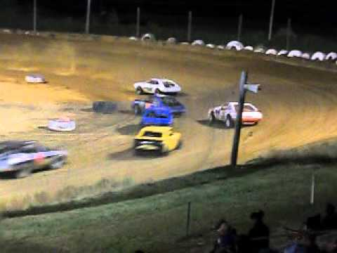 Mini Stock Race at Beebe Speedway 6-1-12 part 2