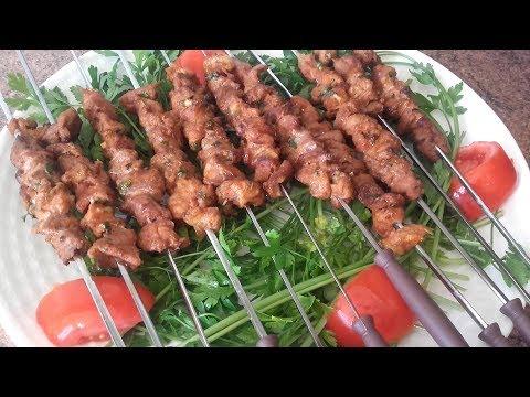 Pinchos de cordero  قطبان اللحم / comida de marruecos