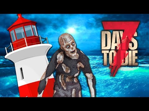 ZOMBIE FILLED LIGHTHOUSE (7 Days To Die - War of the Walkers Mod)(Ep.25)