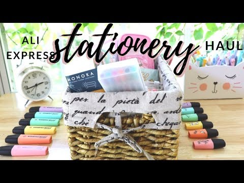 Aliexpress Stationery Haul 💫 Back To School