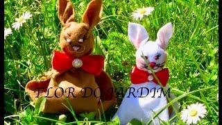 Coelhinho da páscoa de feltro – Rabbit, easter bunny