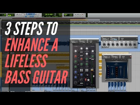 3 Mix Steps To Enhance A Lifeless Bass Guitar – RecordingRevolution.com
