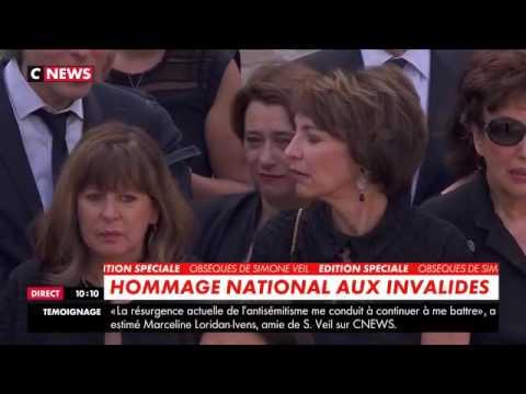 CNEWS. [EDITION SPÉCIALE]  🇫🇷 Hommage national à Simone Veil aux Invalides