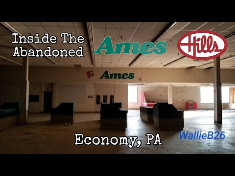 Inside Abandoned Ames / Hills Economy, PA