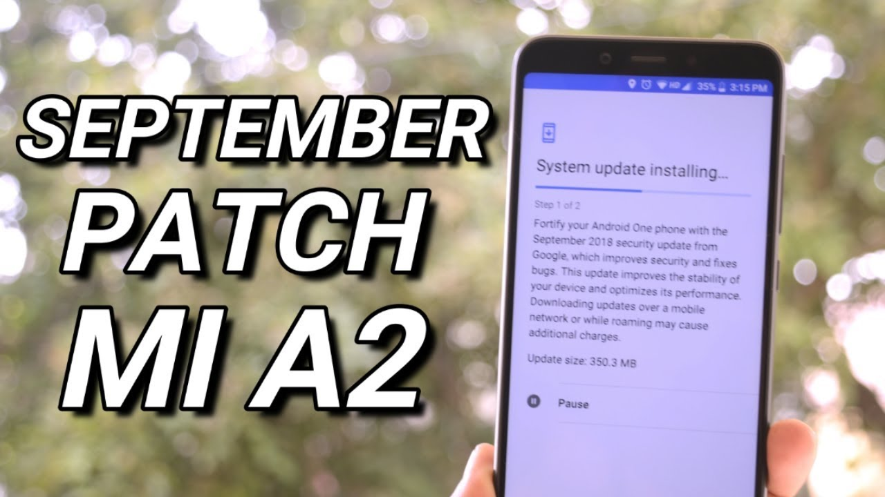 MI A2 OTA update September Security Patch + Benchmark Results!!!