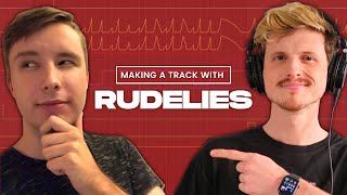 Making a RudeLies Track WITH RUDELIES // Mastering, Leads, Vocals, Percussion + More