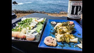 Coastal foraging Making the BEST clam carpaccio with Philosophy D
