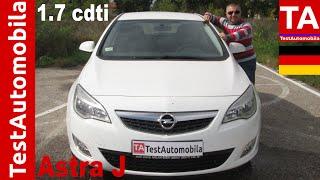 OPEL Astra J - 1.7 CDTI Test