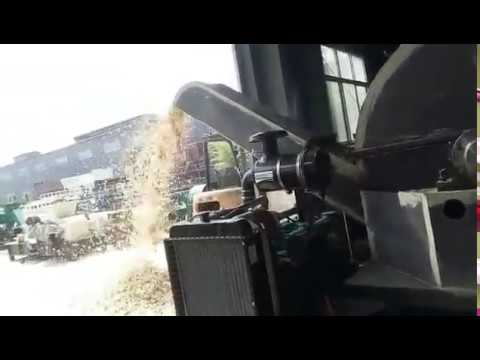 Diesel disc wood chipper machine in Anyang AOLS