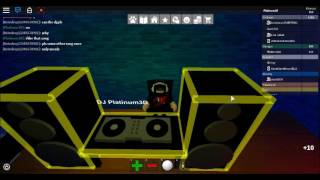 Roblox Trabaja en un Pizza Place - Im Dj in a Party