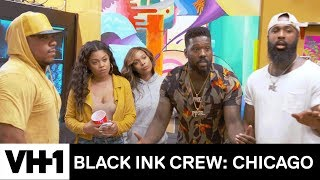 Ryan Fights 9Mag Over Kat 'Sneak Peek' | Black Ink Crew: Chicago