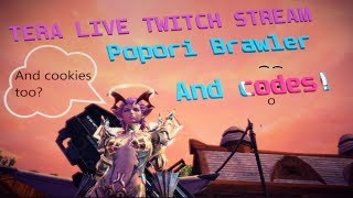 TERA: Twitch livestream for patch 82 and free items!   PART 76