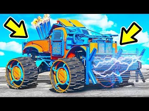 🔴 קונה את המשאית הכי מטורפת ב GTA V?! (נשק חשמלי חדש יצא!)