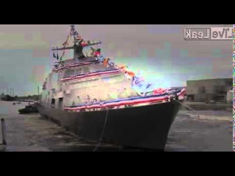 USS Little Rock (LCS 9) Side Launched