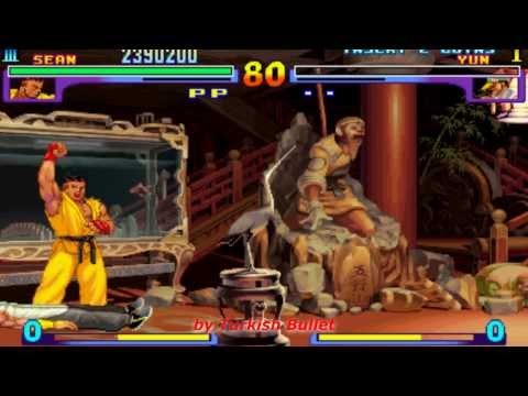 Street Fighter III: New Generation (Arcade) - (Sean Matsuda   Hard Difficulty)