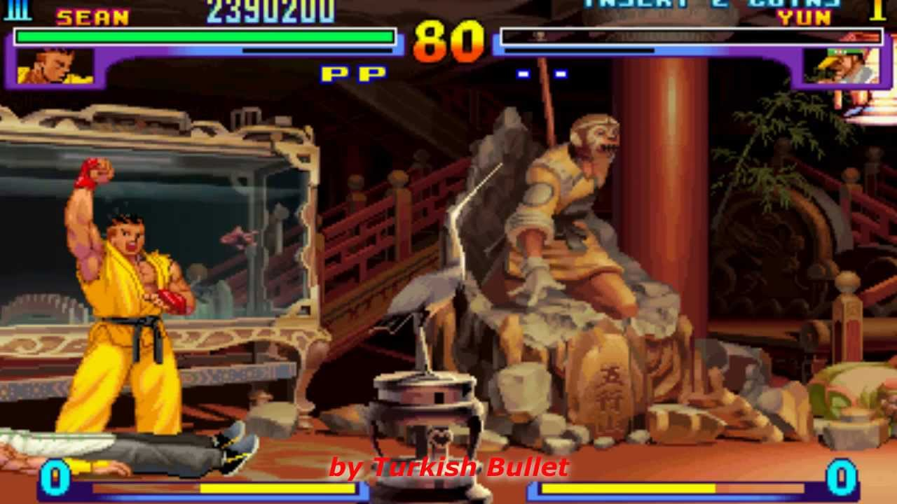 Street Fighter III: New Generation (Arcade) - (Longplay - Sean Matsuda |  Hard Difficulty)