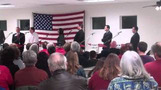 CA03, 2-9-11 Yuba County Tea Party Debate, Marysville Pt  5