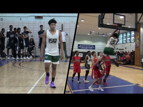 Ron Harper Jr. GOES OFF @ Nike IS8! It's In His Blood!! Northeast Basketball Club Full Highlights!