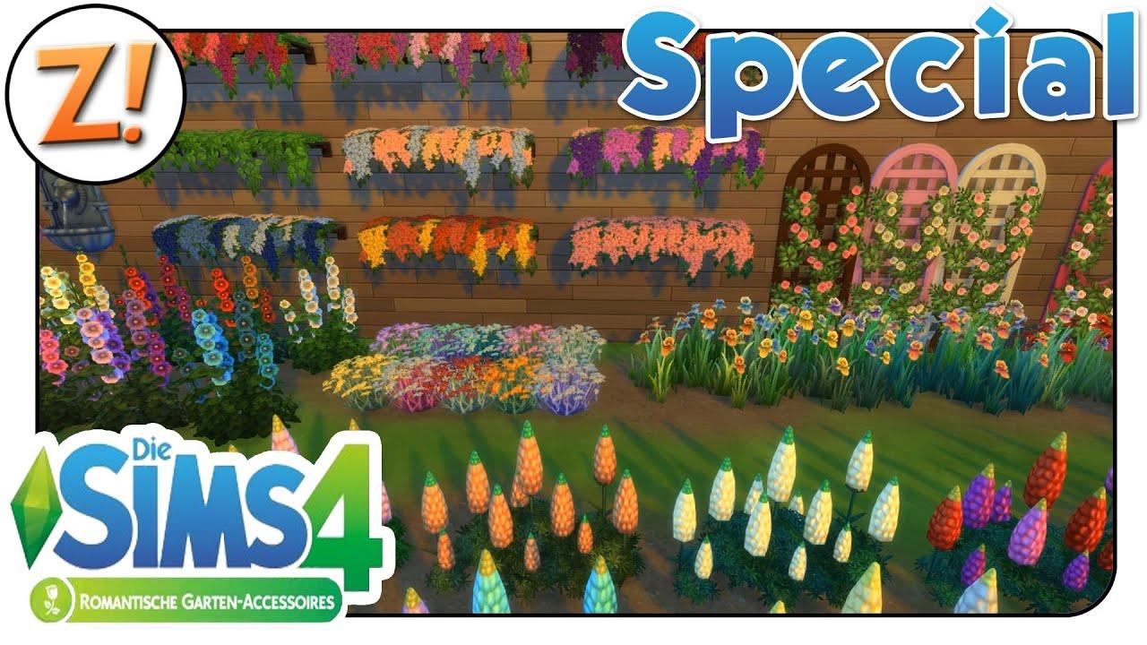 Sims 4 [Romantische Garten Accessoires] Neues im CAS Möbel