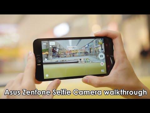 Asus Zenfone Selfie Camera walkthrough! Manual and Beautification