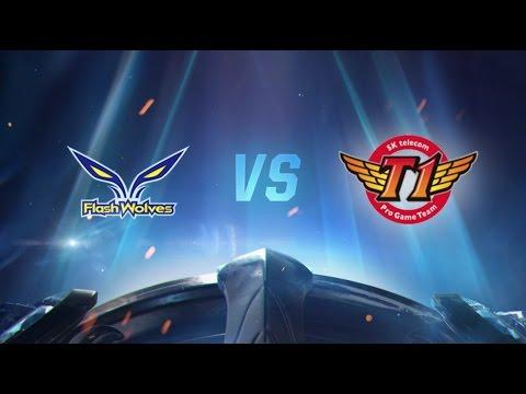 Worlds 2016: FW vs SKT - B Grubu / 8. Gün