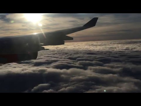 SAS A340 FULL Approach Landing Shutdown at Copenhagen Kastrup EKCH