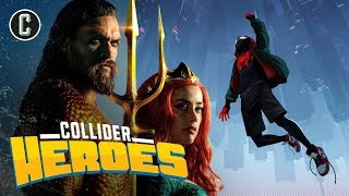 Into the Spider-Verse Non-Spoiler Reactions and Early Aquaman Reviews - Heroes