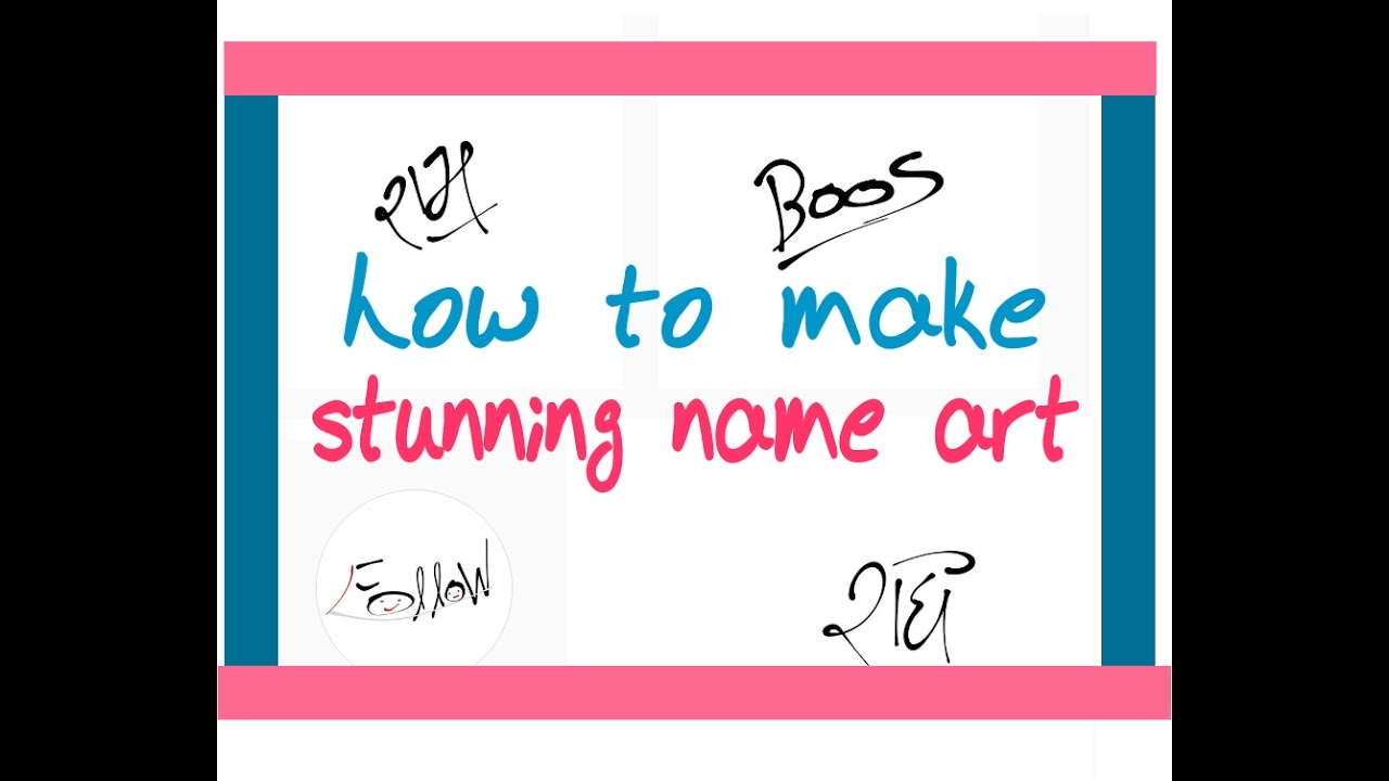 How To Make American Style Signature