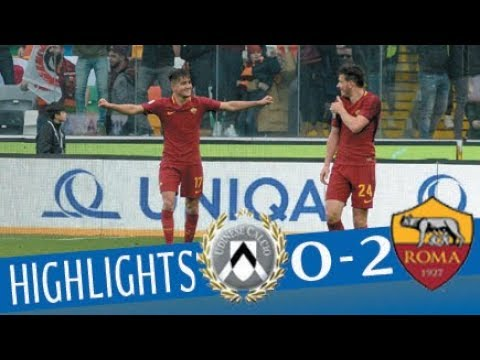 Udinese - Roma 0-2 - Highlights - Giornata 25 - Serie A TIM 2017/18