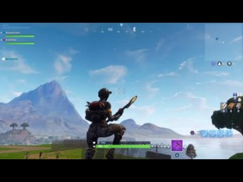 INSANE TIlTED TOWER METEORIT SPOTTED IN THE PRE GAME LOBBY