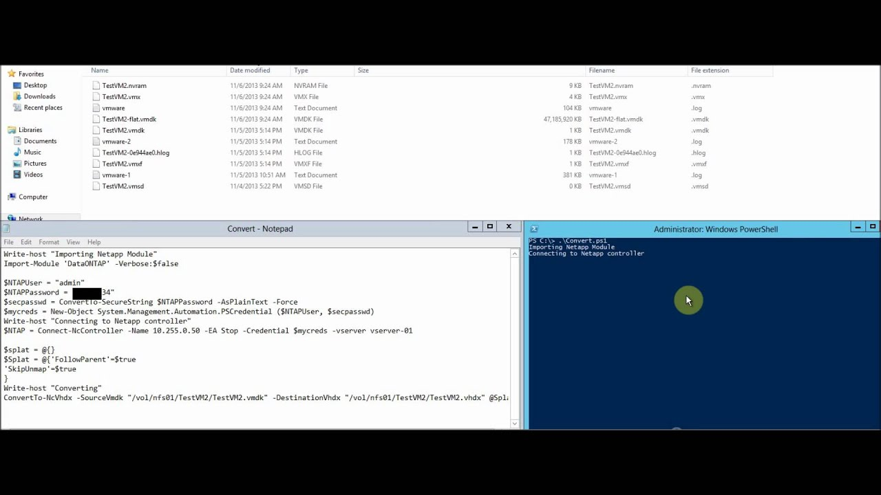 Converting VM's from VMware to Hyper-V in seconds (Part 1)