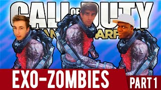 CoD EXO ZOMBIES #1 Part 1 with The Sidemen (CoD Advanced Warfare Zombies)