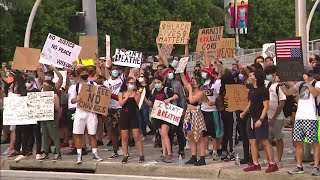 Protests in South Florida continue Monday, but all end peacefully