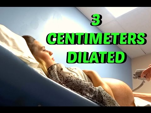 35 WEEK TWINS PREGNANCY CHECK UP: 3 CENTIMETERS DILATED