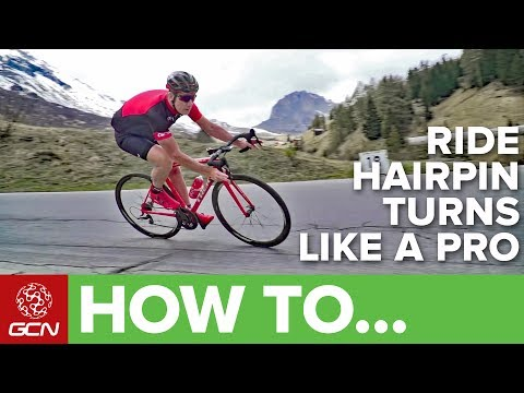 How To Ride Hairpin Turns Like A Pro | GCN Pro Tips