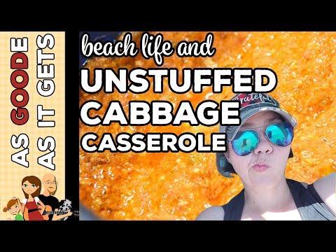 Crockpot Unstuffed Cabbage Casserole // Lake Havasu State Park // RV Living